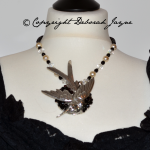 Jewellery commissions commission person design artisan luxury bird necklace vintage brooch
