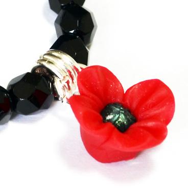 poppy appeal charm bracelet