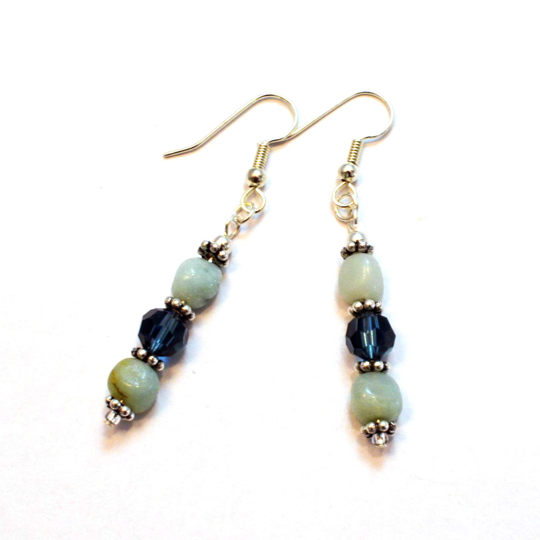 remade vintage earrings