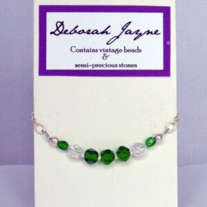 boho chic, bead bracelet, vintage