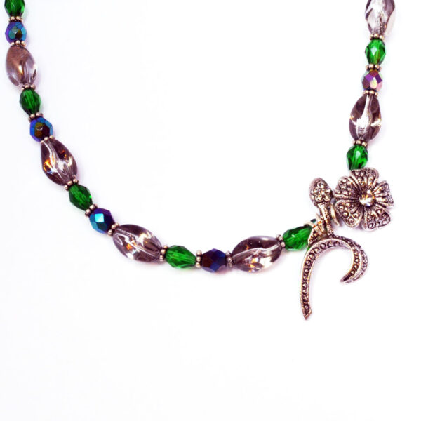 upcycled vintage necklace