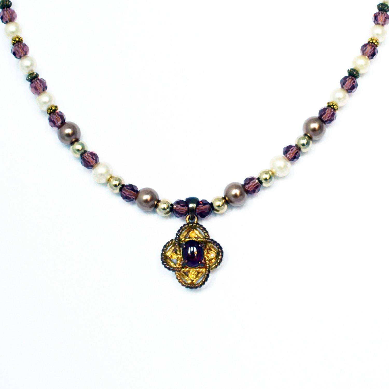 remade vintage necklace