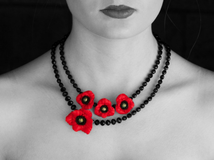 Poppy Jewellery (in Support of Royal British Legion)