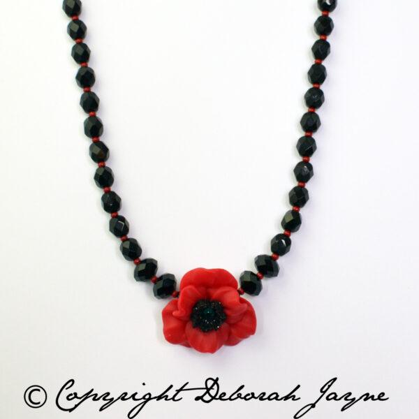 Remembrance Poppy Jewellery