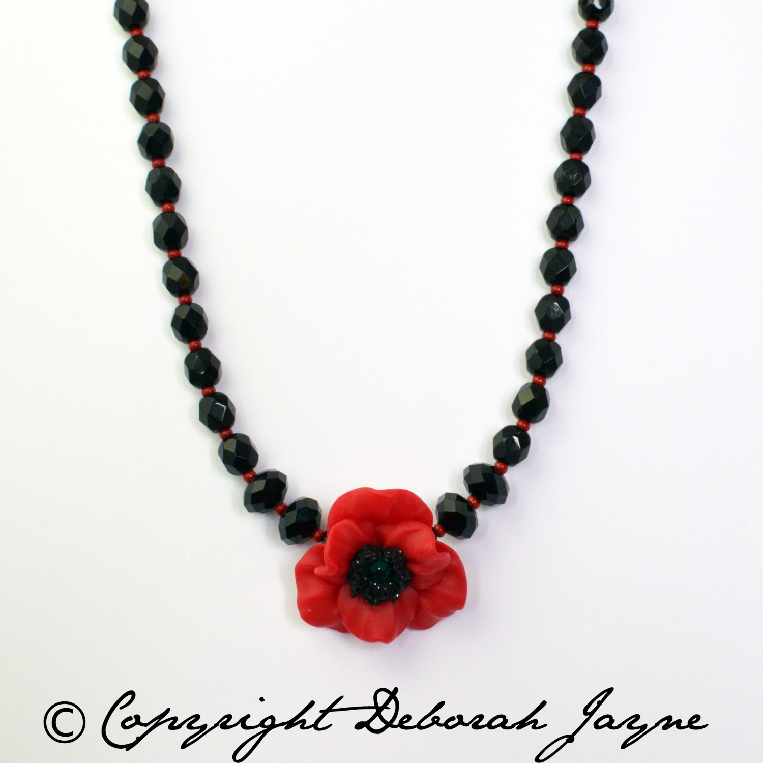 Remembrance Poppy Jewellery