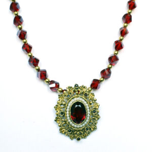 Renaissance inspired necklace