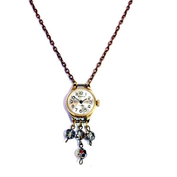 upcycled vintage watch jewellery