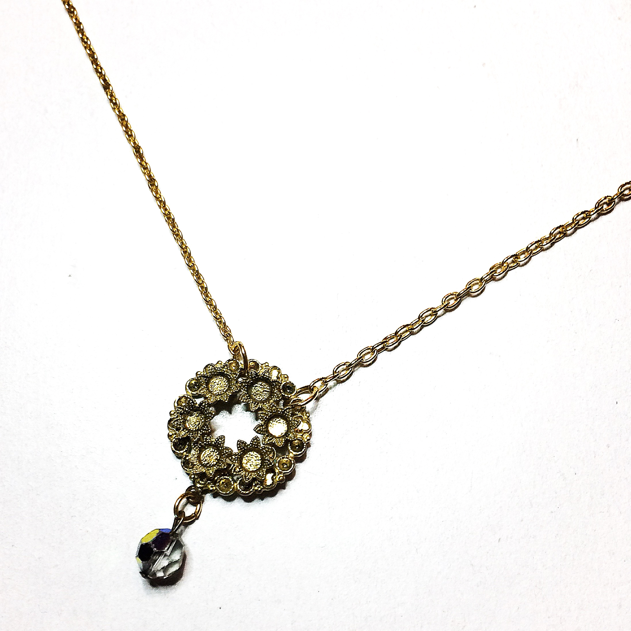 reimagined vintage bridal necklace