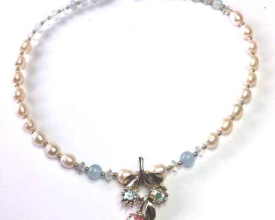 repurposed vintage, vintage necklace
