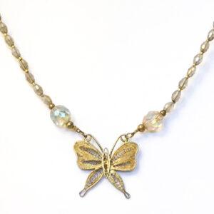 vintage butterfly jewellery