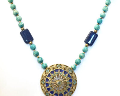 vintage amulet necklace