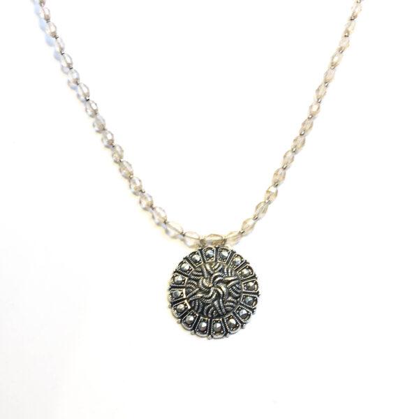 repurposed vintage pendant