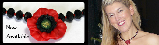 Poppy Appeal Jewellery In Support of the British Legion
