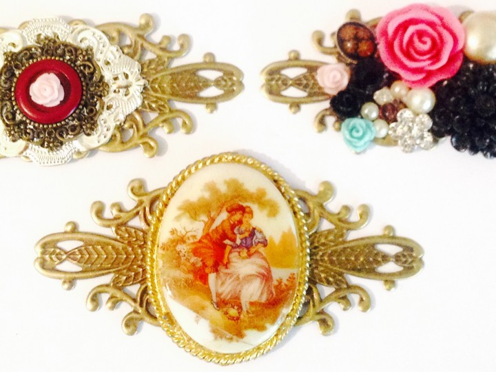 COLLAGE STATEMENT NECKLACES