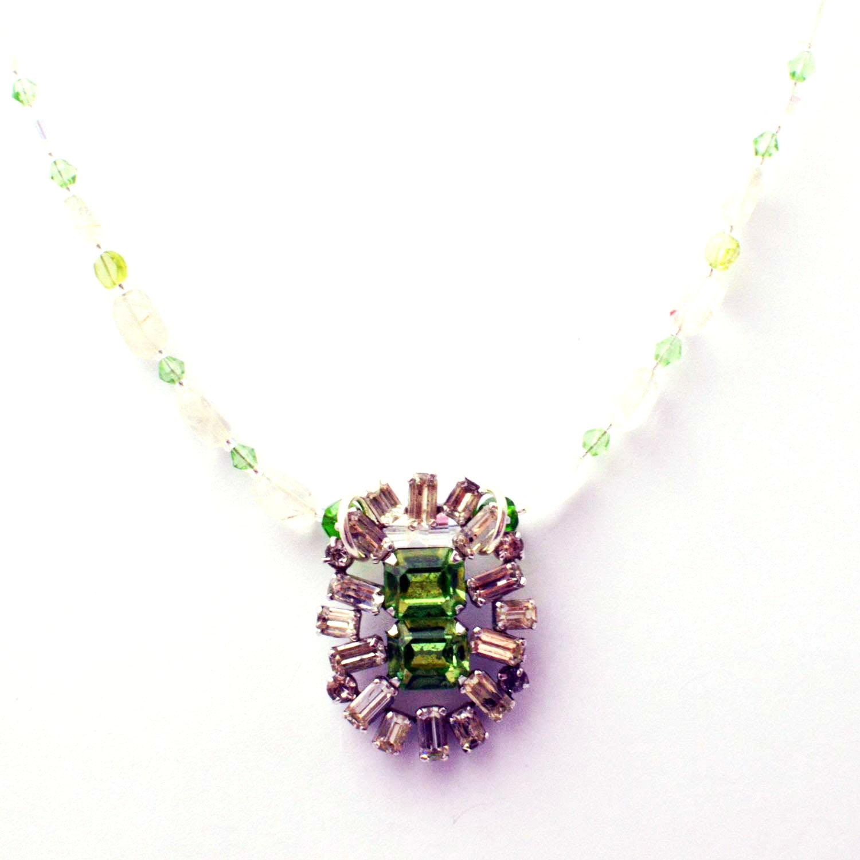 reimagined vintage necklace