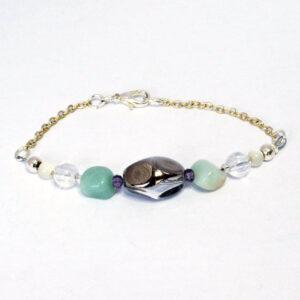 handmade, bead, reworked vintage, bracelet