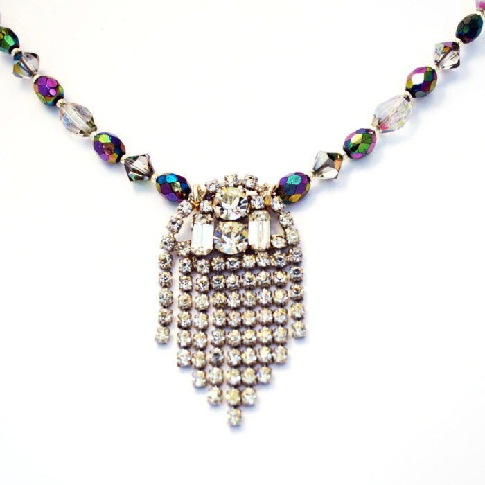 vintage statement necklace