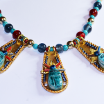 Egypt Egyptian Cleopatra Scarab Turquoise