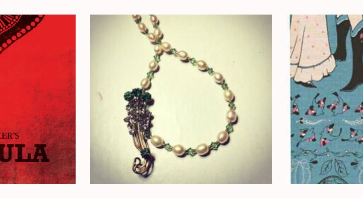 Reworked Vintage Artisan Jewellery Meets Classic Literature