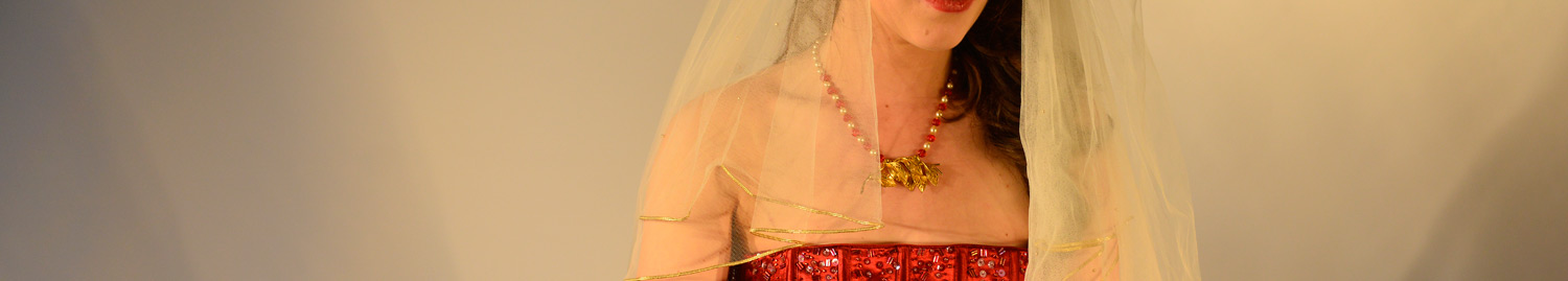 red wedding jewellery