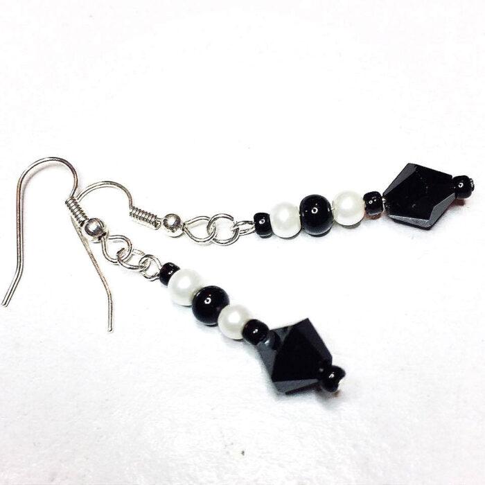 Art Deco inspired earrings