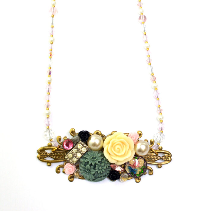 collage necklace