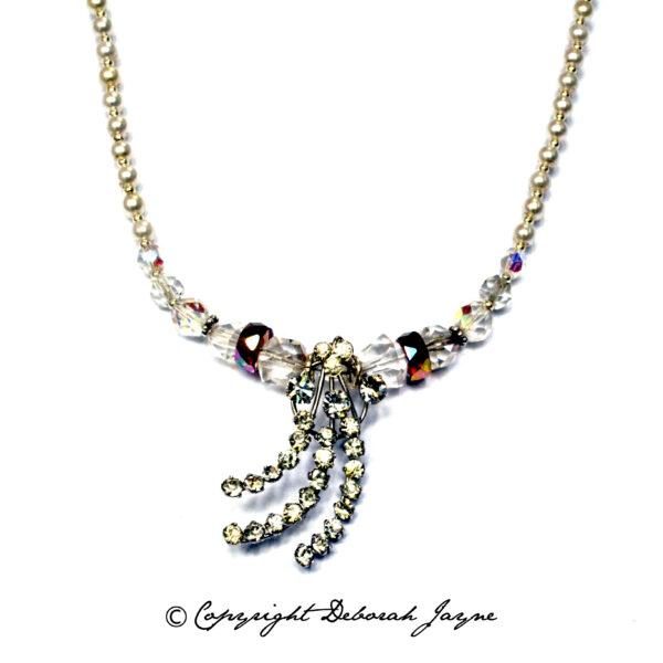 vintage bridal necklace, vintage ethical necklace, unique vintage bridal necklace